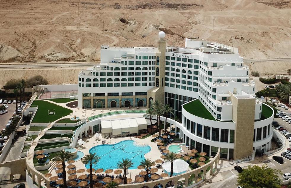 המלון מצילום אווירי