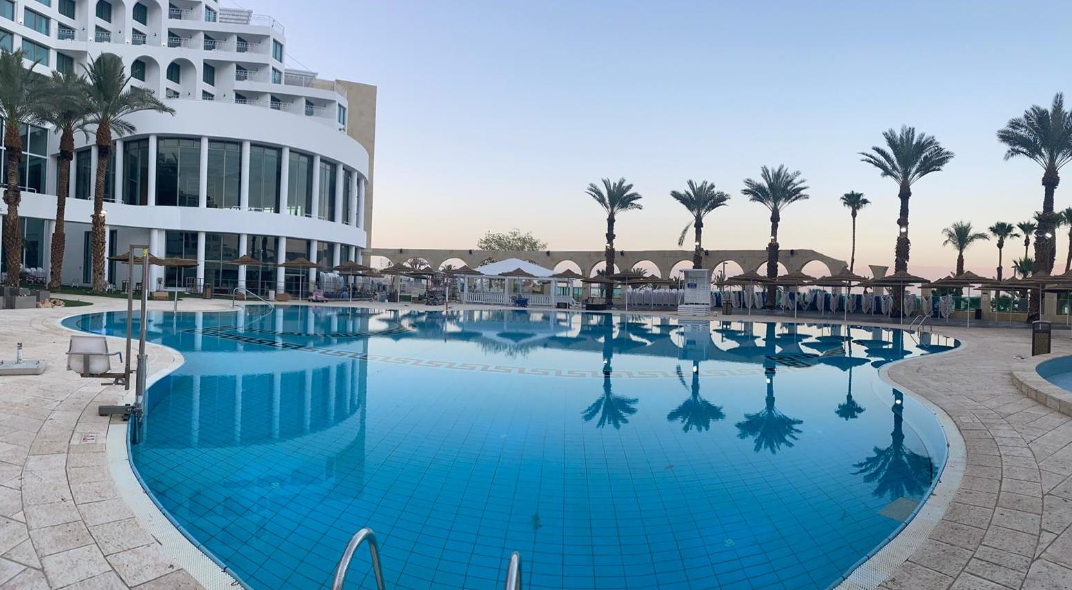מלון דניאל ים המלח לאחר השיפוץ