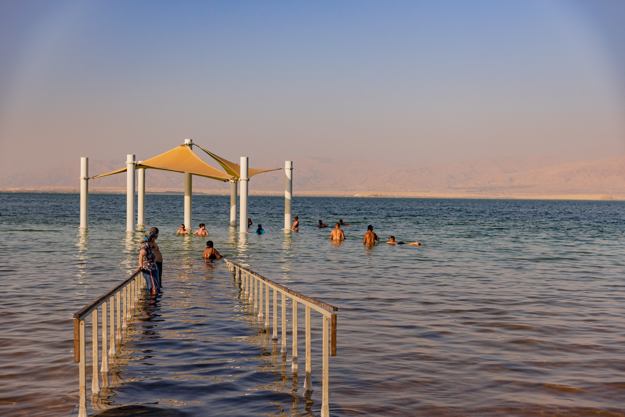 דניאל ים המלח - חוף המלון