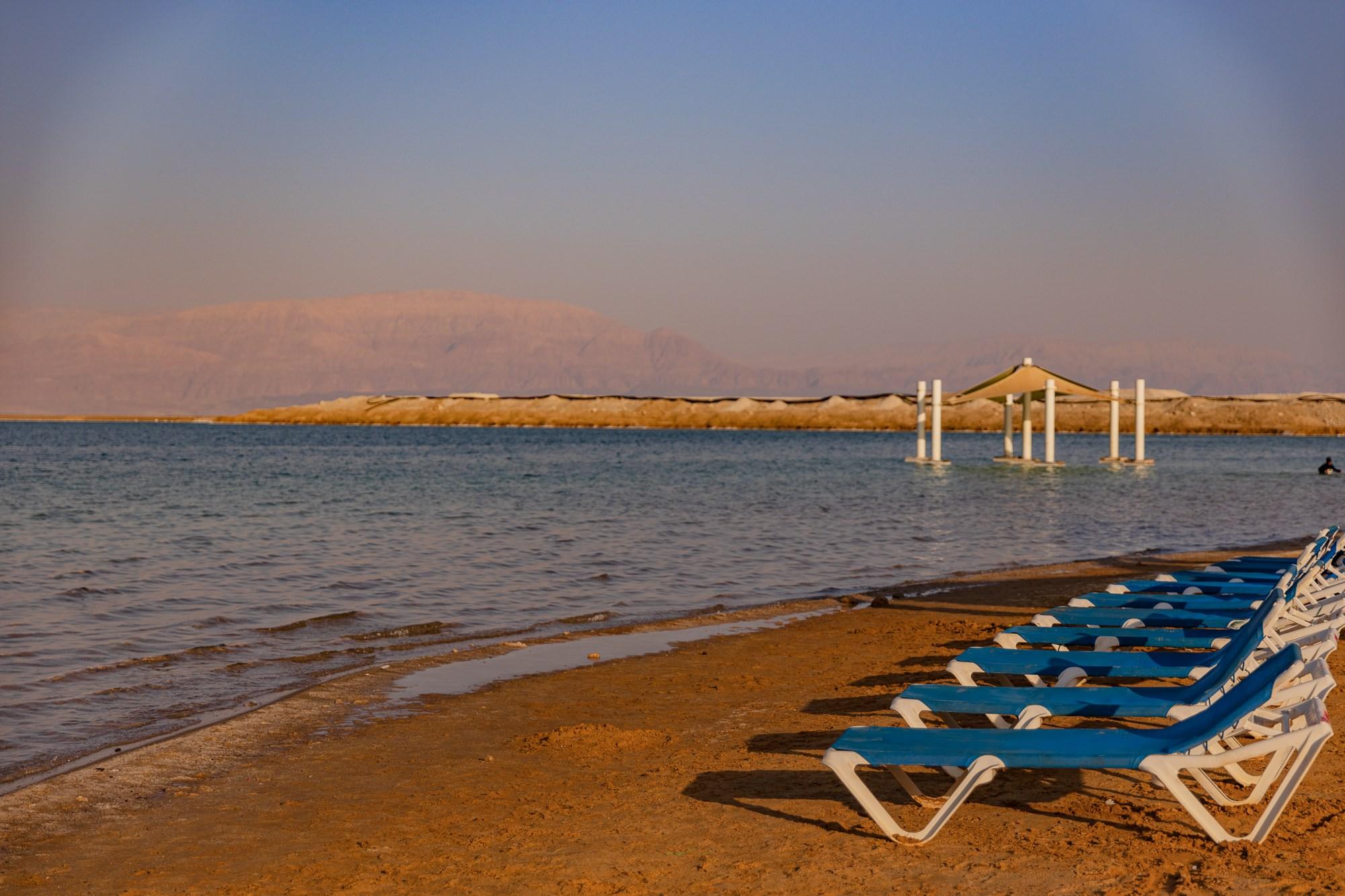 חוף דניאל ים המלח