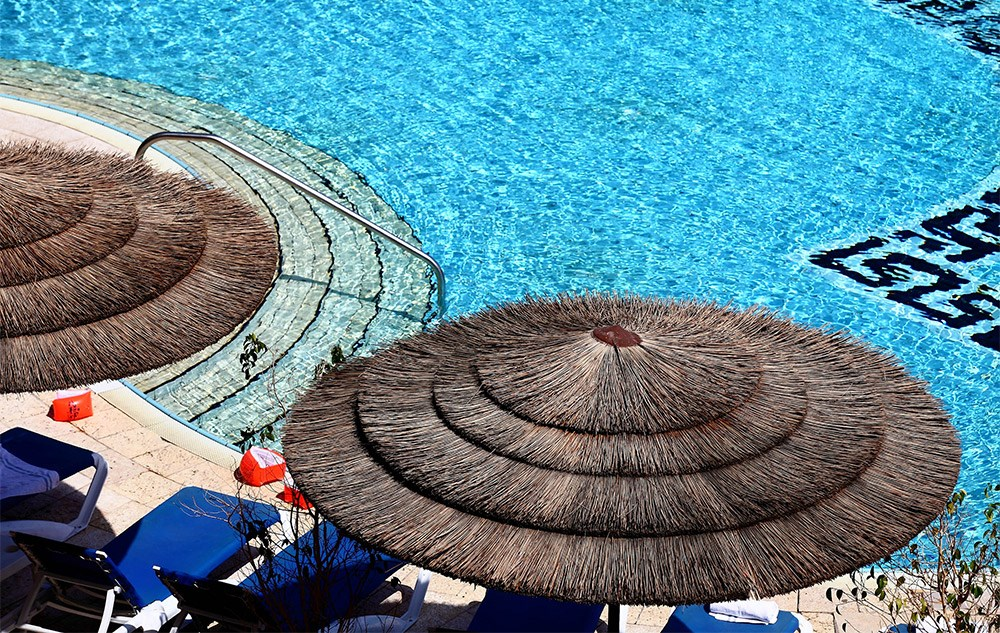 בריכת שחייה - מלון דניאל ים המלח